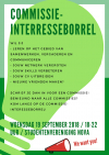 Commissie-interesseborrel