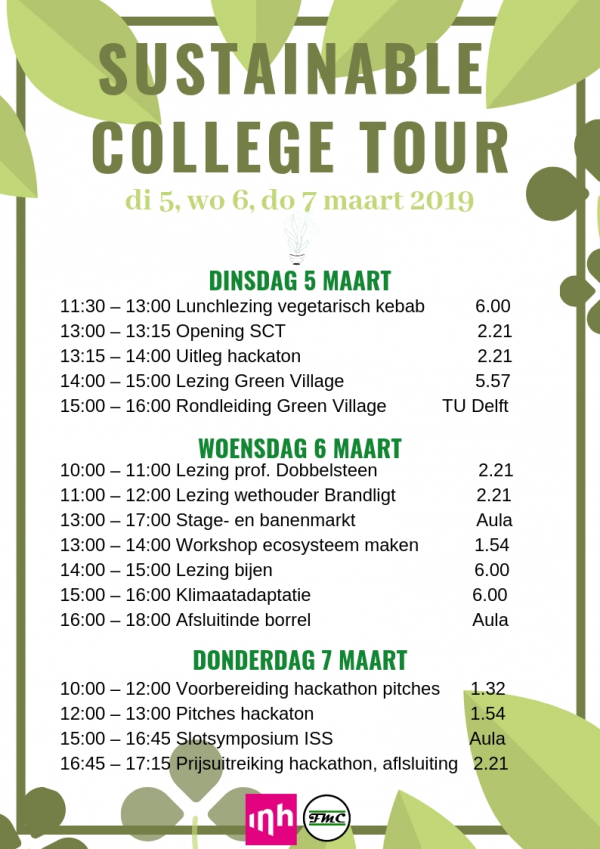 Sustainable College Tour